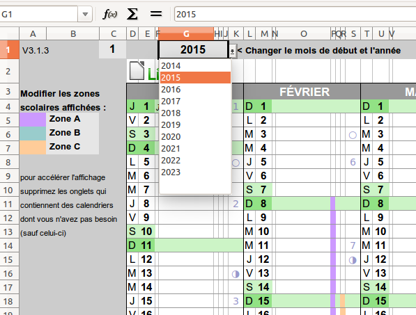 Calendrier 2020 A Completer.Un Calendrier Perpetuel Pour Openoffice Libreoffice Et