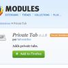 [Navigation Privée] Rendre uniquement certains onglets privés sur Firefox